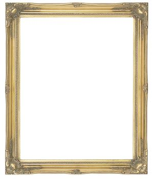 2 '' Gold Decorative Ornate Swept Frame '' Ramona ''  – image 1