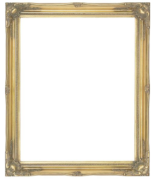 2 '' Gold Decorative Ornate Swept Frame '' Ramona ''