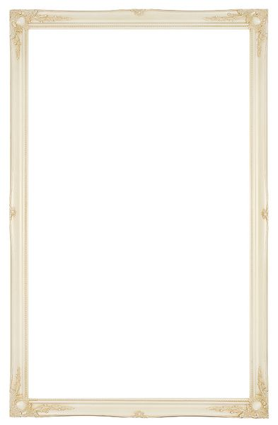 3 '' Ivory Decorative Ornate Swept Frame '' Valerie ''  – image 3