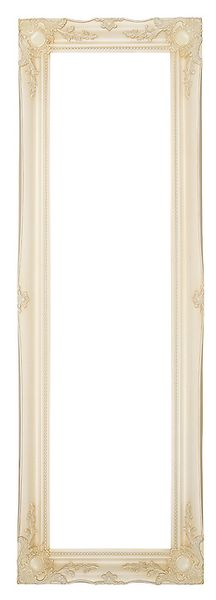 3 '' Ivory Decorative Ornate Swept Frame '' Valerie ''  – image 2
