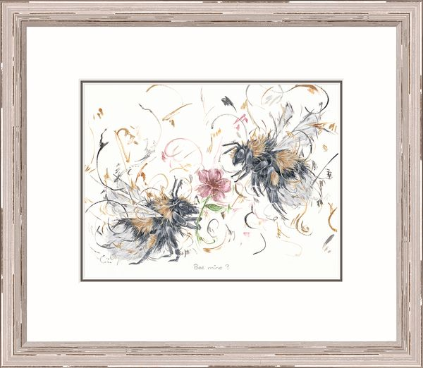 Bee Mine? - Limited Edition Print by Aaminah Snowdon – image 2