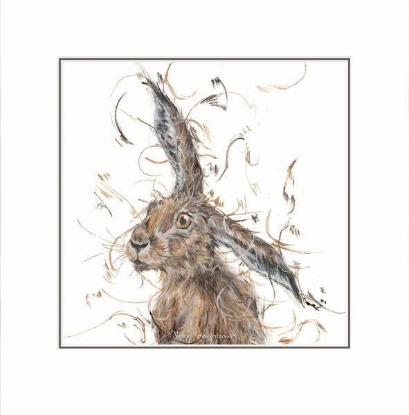 Nosy Neighbour - Limited Edition Print by Aaminah Snowdon – image 1