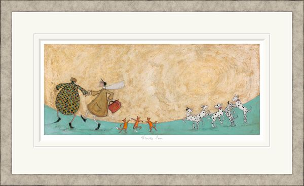 Strictly Fun  - Limited Edition Print by Sam Toft