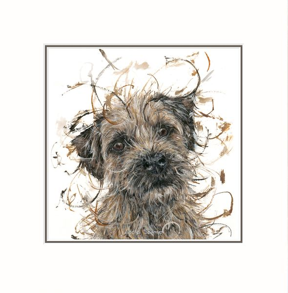 Little Scamp - Limited Edition Print by Aaminah Snowdon