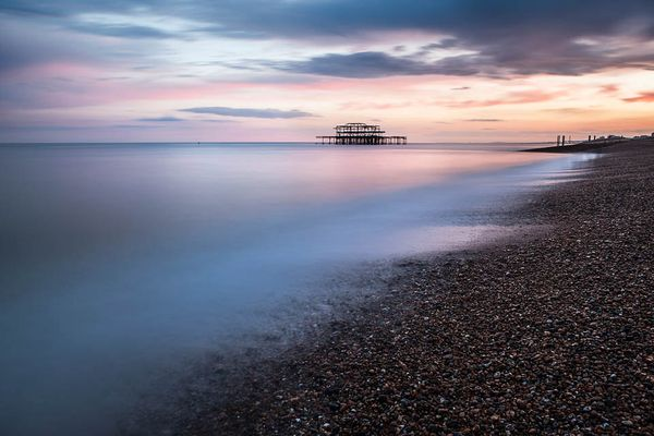 West Pier III by Max Langran