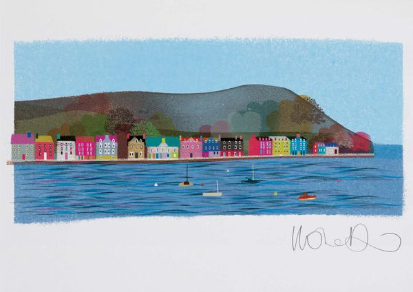 Tobermory  - Artprint by Ilona Drew from the ' I Drew This '  Landmark Series