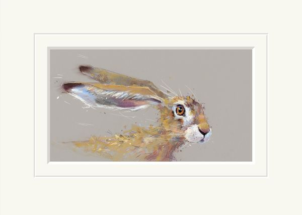 Sorry Must Dash  - Limited Edition Print by Nicky Litchfield