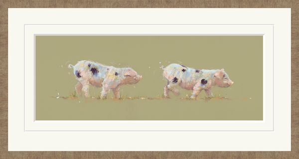 Follow the Leader - Limited Edition Print by Nicky Litchfield