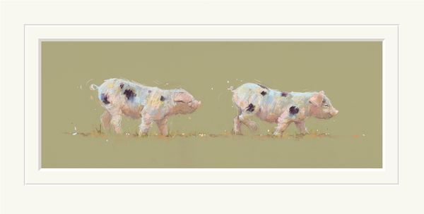 Follow the Leader - Limited Edition Print by Nicky Litchfield – image 1