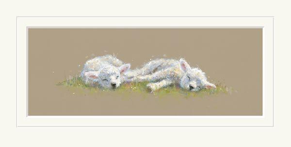 Springtime Slumber - Limited Edition Print by Nicky Litchfield