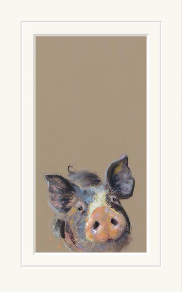 Happy Hoglet - Limited Edition Print by Nicky Litchfield – image 1