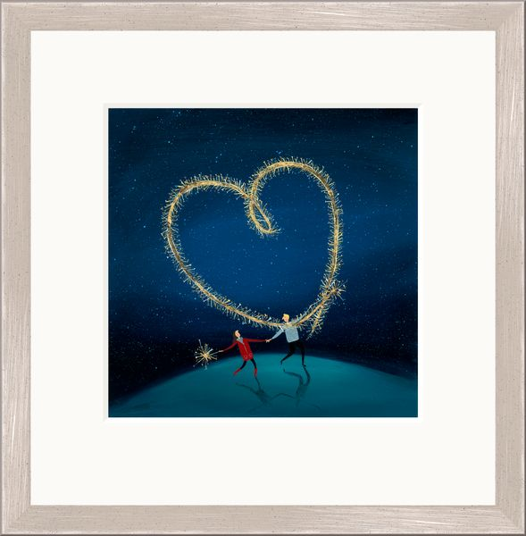 Sparkly Love - Limited Edition print by Jenni Murphy