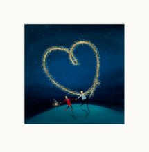 Sparkly Love - Limited Edition print by Jenni Murphy 001