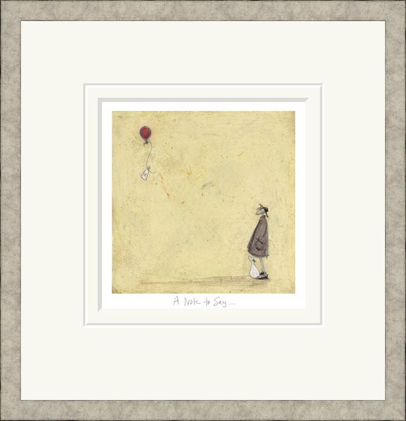 A Note to Say - Limited Edition Print by Sam Toft
