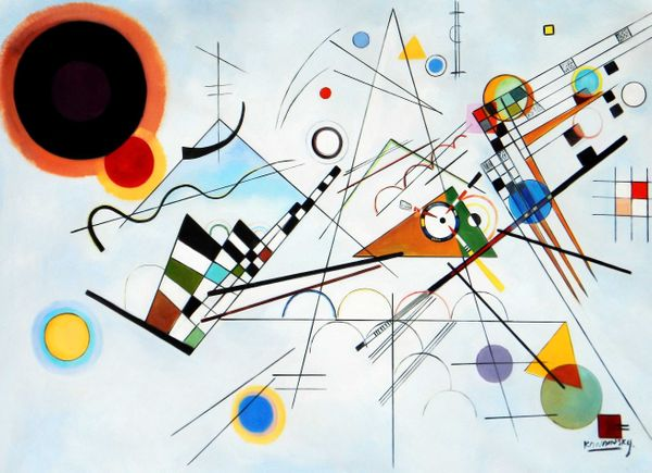 """Wassily Kandinsky - Composition VII 36x48 """" oil painting"""