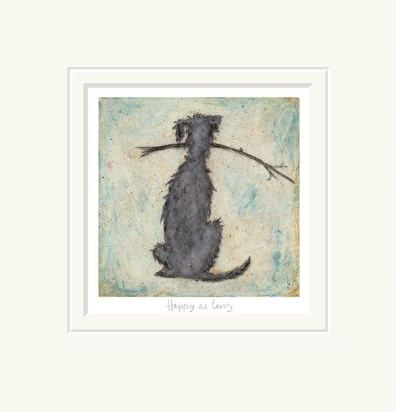 Happy as Larry - Limited Edition Print by Sam Toft