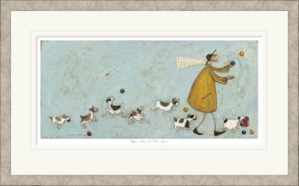 Happy Days Are Here Again - Limited Edition Print by Sam Toft