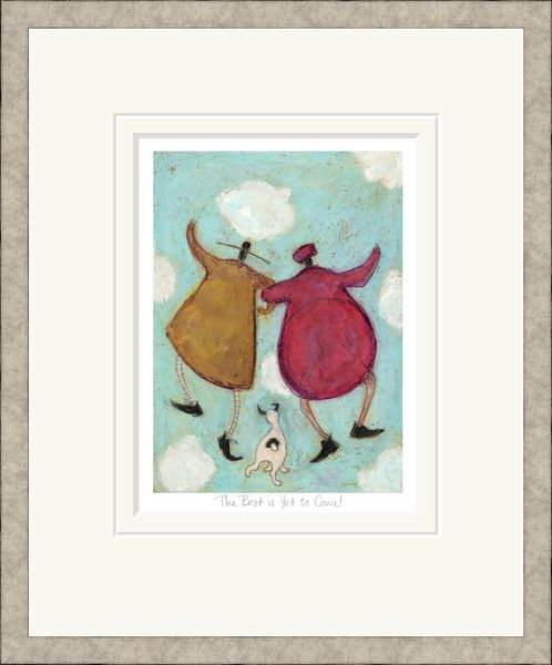 The Best is Yet to Come! - Limited Edition Print by Sam Toft