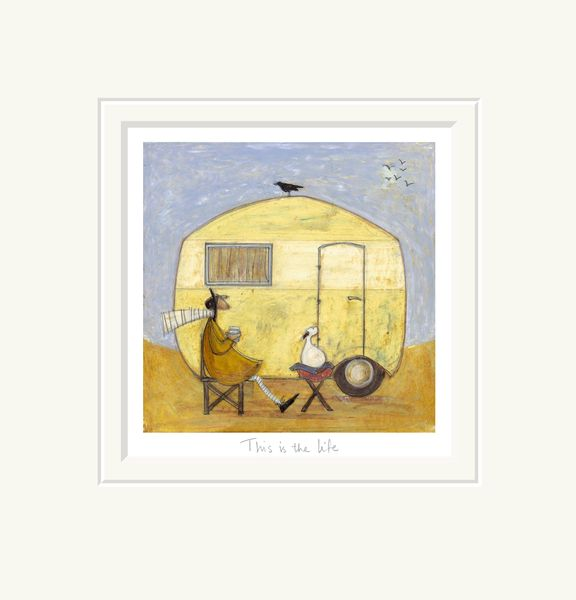 This is the Life - Limited Edition Print by Sam Toft