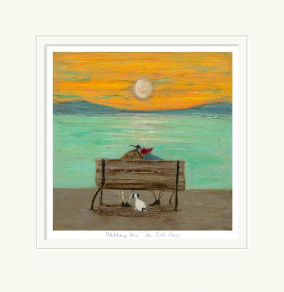 Watching the Tide Roll Away - Limited Edition Print by Sam Toft