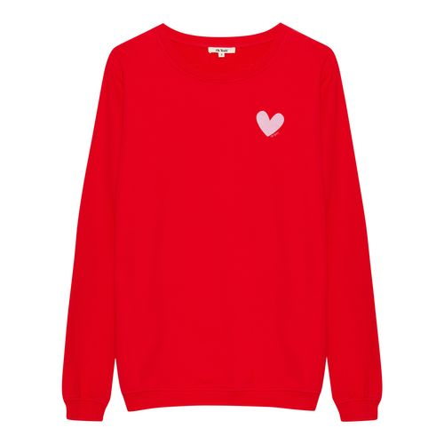 OH YEAH! Sweater Small Heart Rot