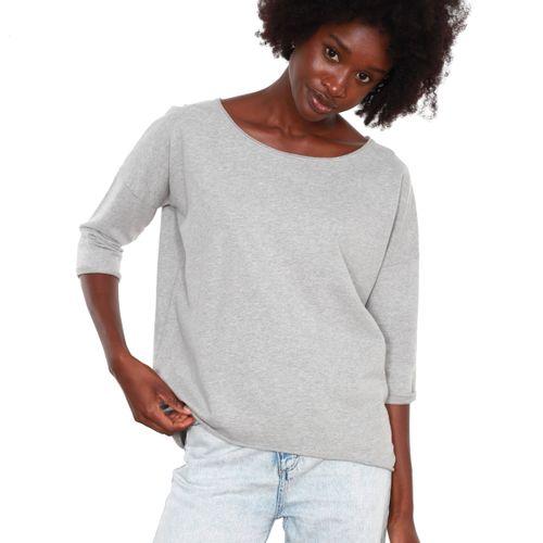 OH YEAH! Sweater Paris Grau Melange