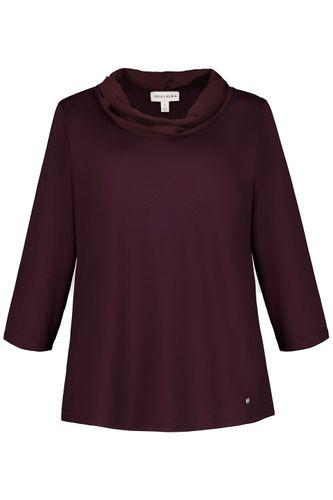 ULLA POPKEN FASHION T-Shirt V-Ausschnitt limette NEU