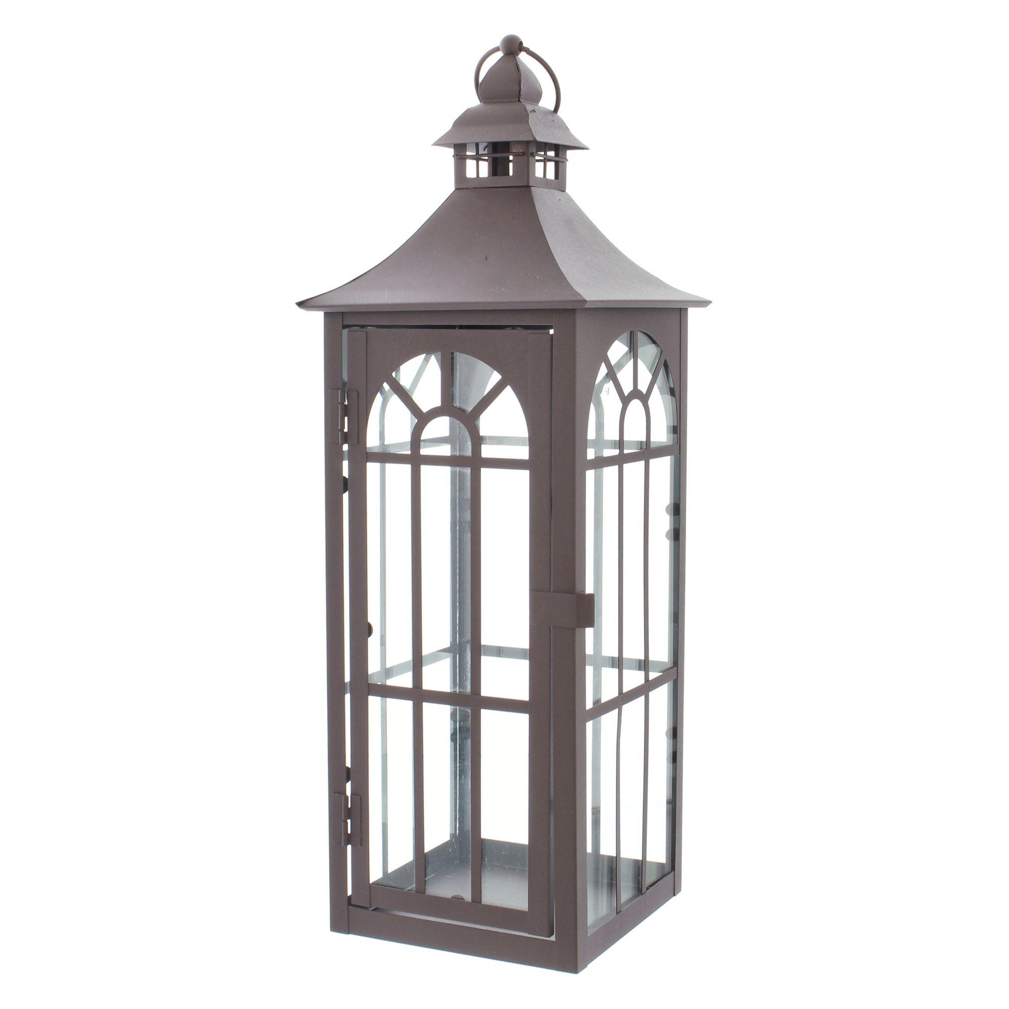 Große Metall Laterne, klassisches Design, zeitlos, Garten, Terrasse, Balkon