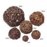 Weidenkugel Rebenkugel Weidenbälle Dekobälle 10cm natur