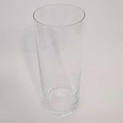 Zylinder Glas Glasvase Vase Glaszylinder klar H 25cm D 11cm