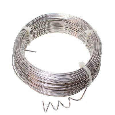 Aluminiumdraht Aludraht Alu Draht 2mm x 60m silber