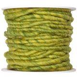 10m Wollschnur mit Juteseele Wollband Wolle Dekowolle Filzkordel D ca. 5mm