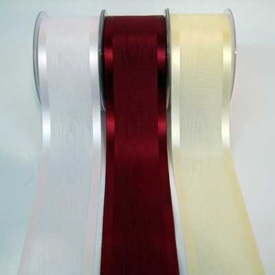 Dekoband Luxury Moire Satin Tischband 100mm/20m