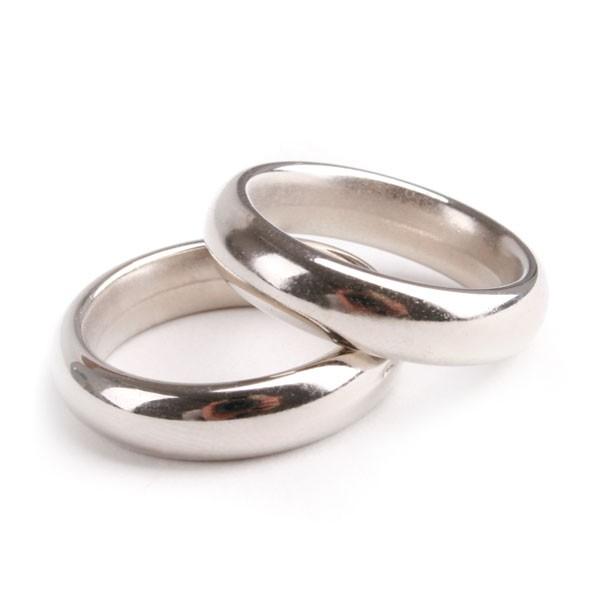 140 Eheringe Ringe Trauringe Streudeko D 18mm Silber Hochzeit Deko