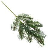 Tanne Nobilis künstlich Tannenzweig grün ca. 51cm x 20cm Weihnachten Advent