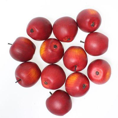 12 künstliche Äpfel rot 46mm