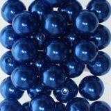 115 x Kunstperle 10mm Perlen Wachsperlen Dekoperlen Bastelperlen mit Loch Kunstperlen