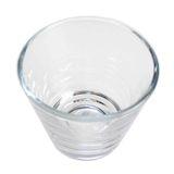Windlicht konisch Glas klar Ø9cm H8cm Teelichtglas Teelichthalter Kerzenglas