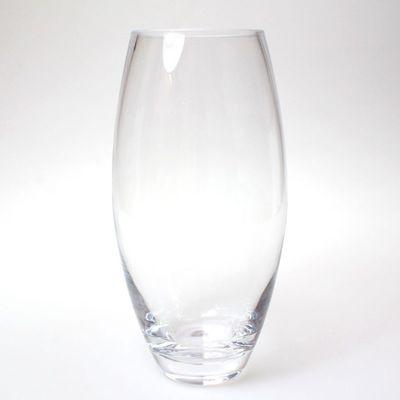Vase bauchig Glas klar D13,5cm H 26cm