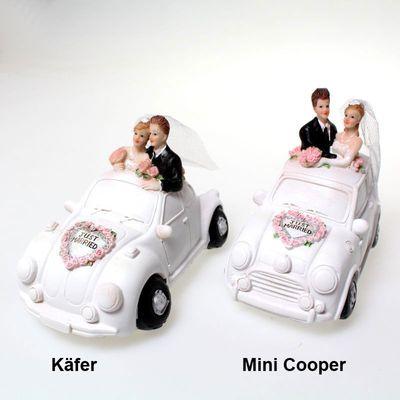 Spardose Brautpaar im Auto ca. 14cm x 10cm Hochzeit Brautauto