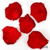 ca. 100g echte Rosenblätter stabilisiert (ähnlich gefriergetrocknet) 4-6cm ca. 300-400 St