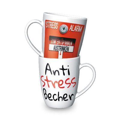 Becher Tasse Kaffeetasse für Dich :-) Anti Stress 250ml