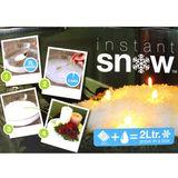 30g Instant Schnee Snow Pulver ergibt ca. 2 Liter Schnee