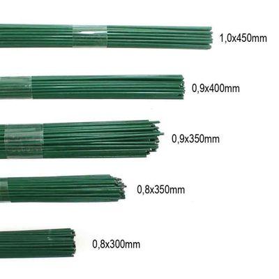 2,5kg Blumendraht grün lackiert Steckdraht Basteldraht Bindedraht alle Größen