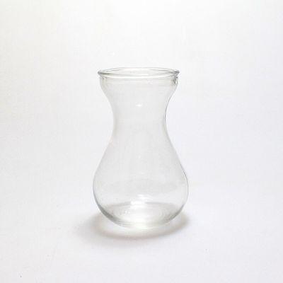 Hyazinthenvase Vase H14cm Ø9cm Öffnung Ø6,3cm Glas klar