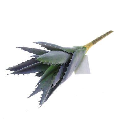 Agave H25cm Kunstblume Kunstpflanze künstlich grün