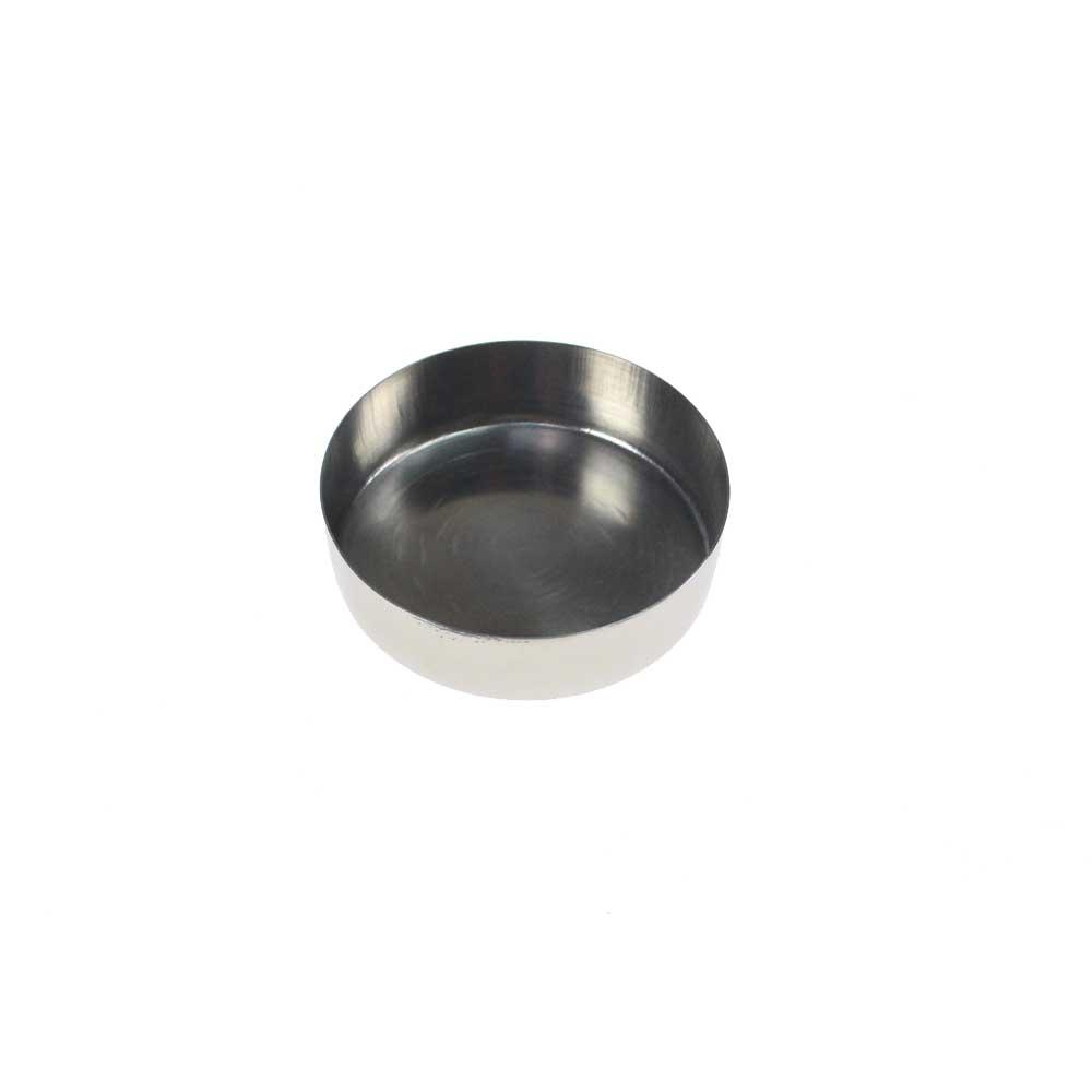 Teelichthalter ø63cm Silber Edelstahl Hülse Halter Teelicht