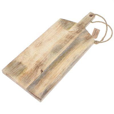 Schneidebrett Mangoholz ca 50x20x2cm Servierbrett Holzbrett Holz Tablett Tafel