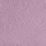 15 Servietten Elegance geprägt 33x33cm hochwertig Blüte Ornament edel elegant