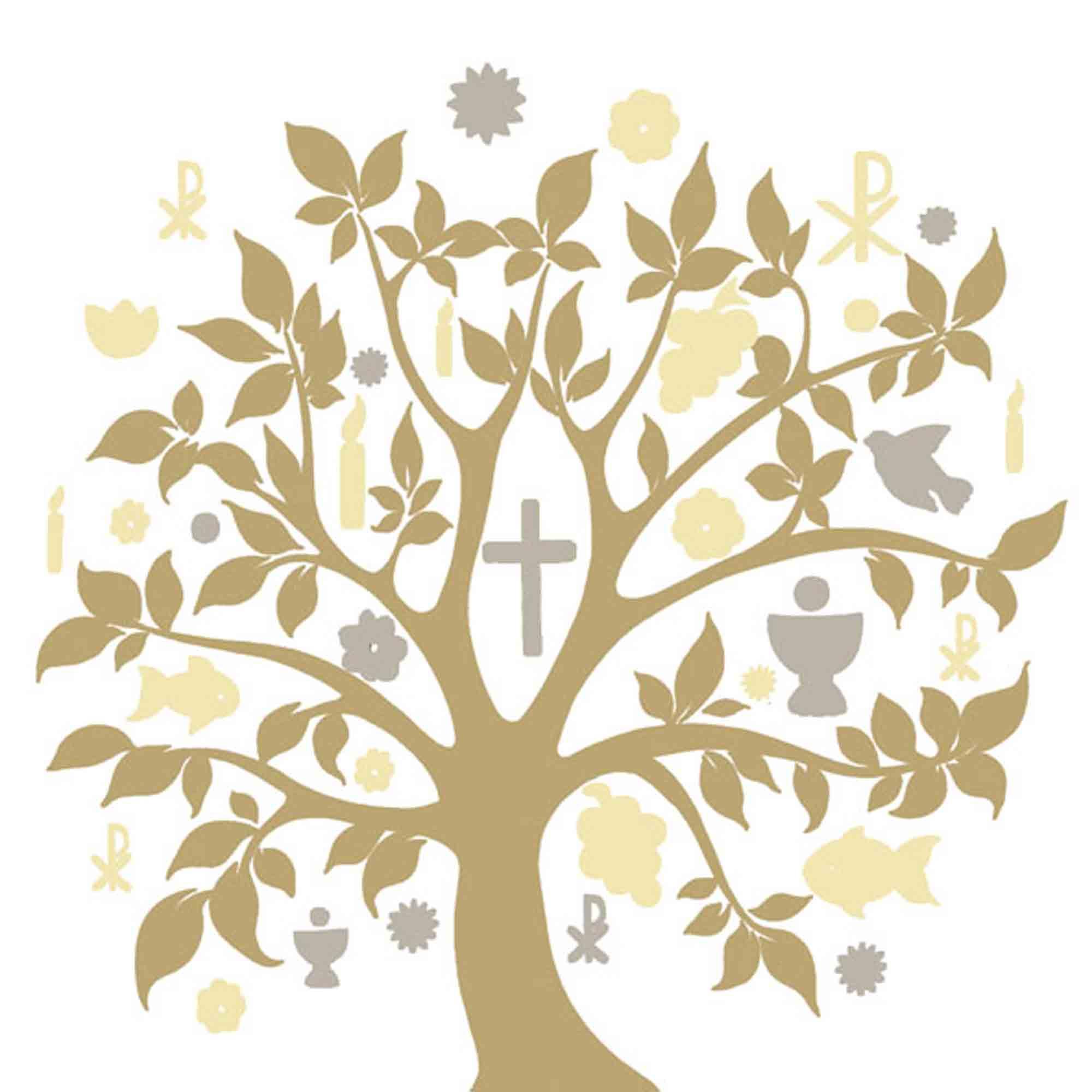 Servietten Kommunion Konfirmation Taufe 3-lagig 20Stück 33x33cm #Neu #Tischdeko